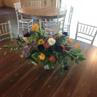 Vibrant table decorations