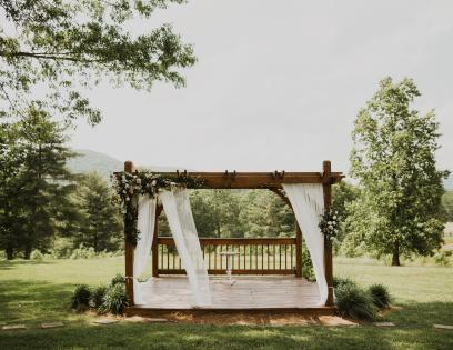Mountain View Arbor design
